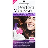 Schwarzkopf - Perfect Mousse - Noisette 668, coloration permanente - La boîte de 92,5ml - (for multi-item order extra postage cost will be reimbursed)