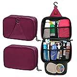 Fieans Outdoor Mode Stil Nylon Reise Tasche Waschtasche Kosmetiktasche Reisetaschen