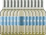 12er Paket La vie est belle blanc 2017 - La vie est belle   lieblicher Weißwein   französischer Sommerwein aus dem Languedoc   12 x 0,75 Liter