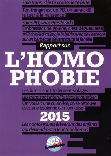 Rapport sur l'homophobie 2015
