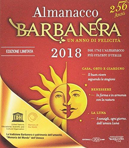 Almanacco Barbanera 2018