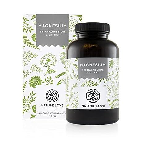 Magnesiumcitrat [ 670 mg pro Kapsel ] - 180 Stück. Frei von Zusatzstoffen wie Gelatine oder Magnesiumstearat. Laborgeprüft, hochdosiert, vegan und hergestellt in