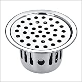 #1: Unknown SBD Stainless Steel Anti-Cockroach Jali/Trap Floor Drain (Chrome Finished)