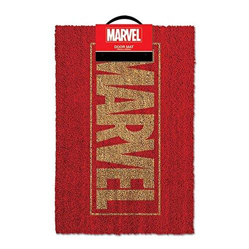 Felpudos Cómics Mercancía de cómics de Marvel Logo Felpudo