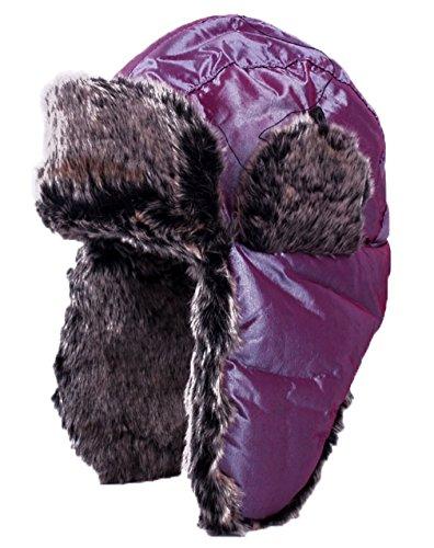 Tina Unisex Winter Earflap Hunting Trooper Trapper Hat Russian Ushanka