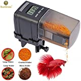 #5: SunGrow Automatic Fish Feeder - Easy to Install on Fish Tank - Never Miss Any Feeding Time - Ideal for Vacation, Weekend Getaway