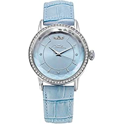 Watch Blue Leather ORL1001_A35 Crystal Woman Moments Xiao Yan