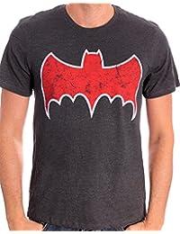 Batman Herren T-Shirt Batman Animated Logo