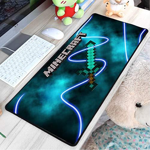 Lbonb Mauspad Muster Mauspads Diy Junge Halloween Geschenk Gaming Mousepad Gamer Große Personalisierte Pad 70 * 30 ()