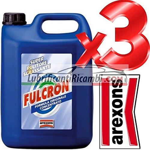 AREXONS - FULCRON PULITORE UNIVERSALE / AREXONS SGRASSATORE CONCENTRATO 3 CONF. 15 LITRI