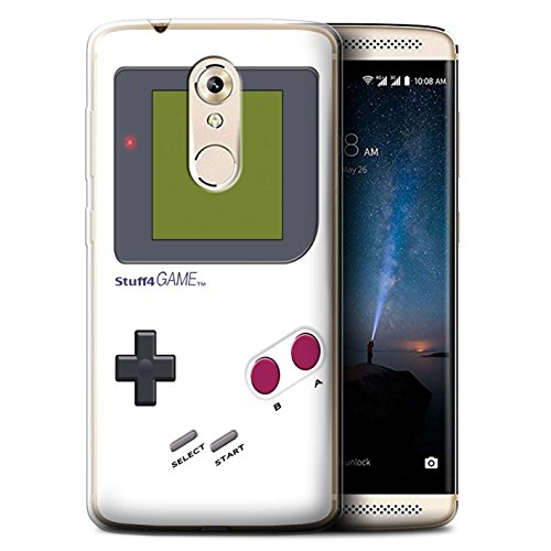 Stuff4 Phone Case/Cover/Skin/oth-gc/Video Gamer/Gameboy Collection Bianco ZTE Axon 7 Mini