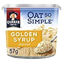 Quaker Oat So Simple Golden Syrup Flavour Porridge Pot, 57 g