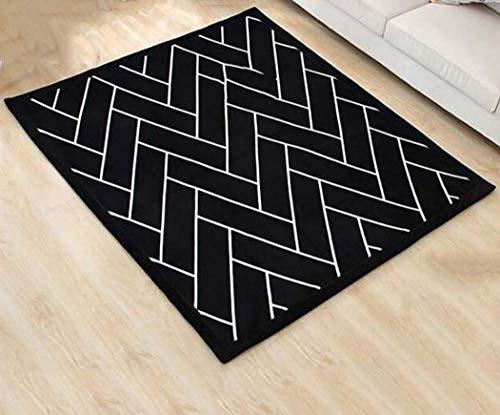 Soft-Vorleger für Schlafzimmer verdicken Tatami Teppich für Schlafzimmer Wohnzimmer Couchtisch Teppich,150x200cm