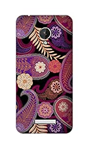 SWAG my CASE Printed Back Cover for Micromax Canvas Spark
