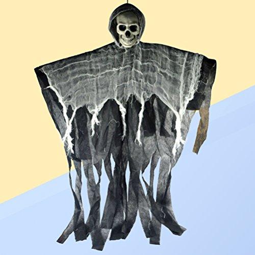 1 Stück hängenden Geist Halloween Dekoration realistische Ghoul Spukhaus Prop Dekor (Halloween Geister Ghouls Und)