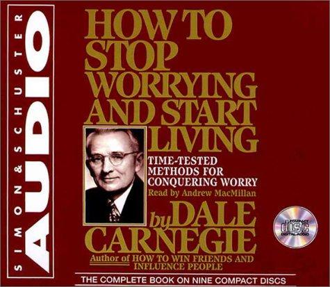 Buchseite und Rezensionen zu 'How To Stop Worrying And Start Living' von Dale Carnegie