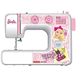 Usha Janome My Fab Barbie Automatic Zig Zag Sewing Machine