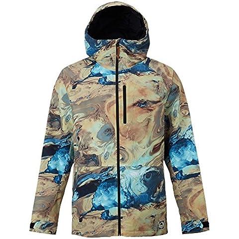 Burton Chaqueta de snowboard Hill Top Jacket, otoño/invierno, hombre, color azul claro, tamaño L