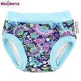 Blueberry Trainers - Butterfly Garden - Trainingshose für Töpfchentraining, Toilettentraining Größe L (14-19 kg)