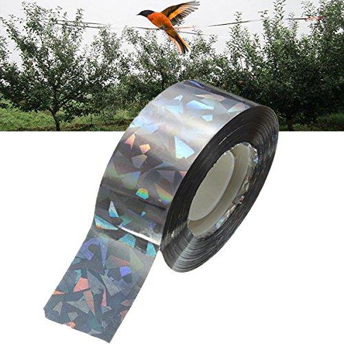 Unbekannt 90m Vogelschreck Tape hörbarer Visual Flash Taube Scare Band -