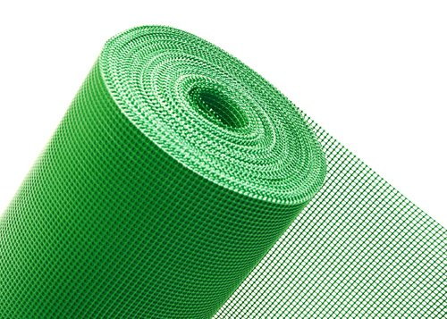 Haga® Clôture bruit Protection Vent Clôture en plastique Protection 1,2 m Hauteur maille 5 mm (au mètre)