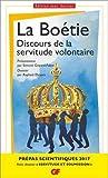 Discours de la servitude volontaire - Pr�pas scientifiques 2016-2017