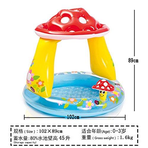 Tlue tathtub spedizione gratuita ! intex baby piscina gonfiabile vasca da bagno bambini piscina di dimensioni fino a 201*198*109 cm, 29 stili,opzionale fungo 57114