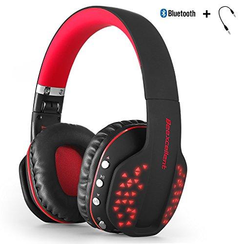 Bluetooth auriculares inalámbricos, yocuby plegable cancelación de r