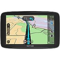 TomTom Start 62 Europa 45 GPS per Auto, Display da 6 Pollici, Mappe a Vita, Indicatore di Corsia Avanzato, 3 Mesi Tutor & Autovelox, Aggiornamenti Software Gratuiti, Nero/Antracite