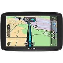 """TomTom Start 62 - Navegador GPS (6"""" pantalla táctil, batería, encendedor de cigarrillos, USB, interno, MicroSD/TransFlash), (versión europea España, Italia)"""
