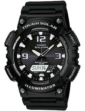 Casio Collection - Herren-Armbanduhr mit Analog/Digital-Display und Resin-Armband - AQ-S810W-1AVEF