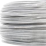 PVC/PVC Rundkabel, Schlauchleitung transparent, 2x0,75mm² - Made in EU - Meterware