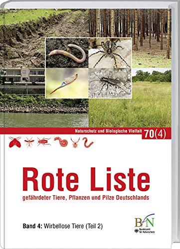NaBiV Heft 70/4: Rote Liste gefährdeter Tiere, Pflanzen und Pilze Deutschlands - Band 4: Wirbellose Tiere (Teil 2) -
