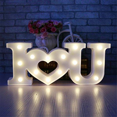 Love light sign creativo 3d i love u heart love led night light marquee sign decorazione luce per san valentino