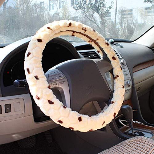 Coprivolante auto Copertura del volante in peluche antigelo Copertura del volante in peluche38cubo d'acqua in peluche38cm