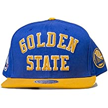 GORRA MITCHELL AND NESS NBA GOLDEN STATE WARRIORS STEPHEN CURRY SC KEVIN DURANT KD GREEN KLAY