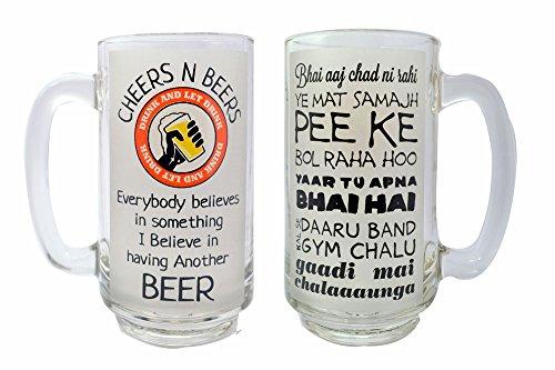 ek-do-dhai-talli-talk-beer-boccale-beer-bicchiere-potabile-bicchiere