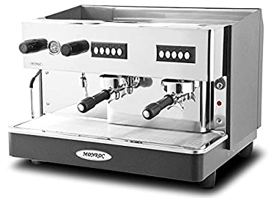 Monroc Heavy Duty 2 Group Espresso Coffee Machine /Commercial Kitchen Cafe Restaurant Coffee Shop Traditional Espresso Coffee Machine from Expobar