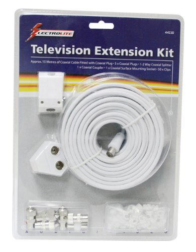Lectrolite 44110 - 15m kit de extensión tv bricolaje