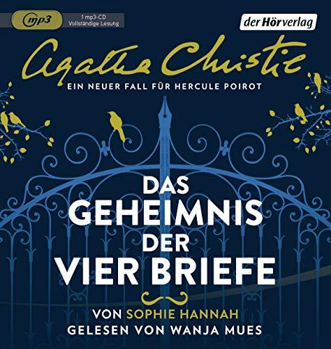 Das Geheimnis der vier Briefe: Ein neuer Fall für Hercule Poirot (Agatha-Christie-Krimis, Band 3) (Geheimnis Cd)