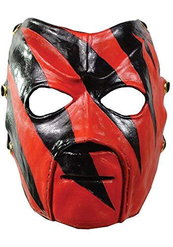 Pro Wrestler Kostüm - Kane Maske für Erwachsene WWF