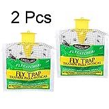 Clode4 Stück Outdoor-Fliegenfänger-Steuerfalle mit Attractant Insektizid frei (2 Stück)
