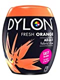Dylon Machine Dye Pod, Fresh Orange, easy-to-use fabric colour for laundry, 350g