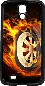 Coque Samsung Galaxy S4 tuning wheels on fire
