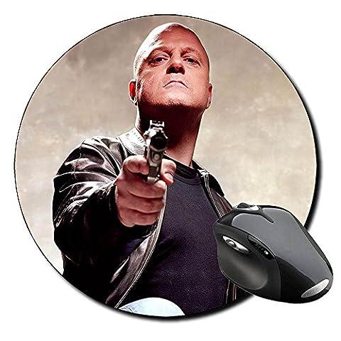 The Shield Michael Chiklis Tapis ronde Round Mousepad PC