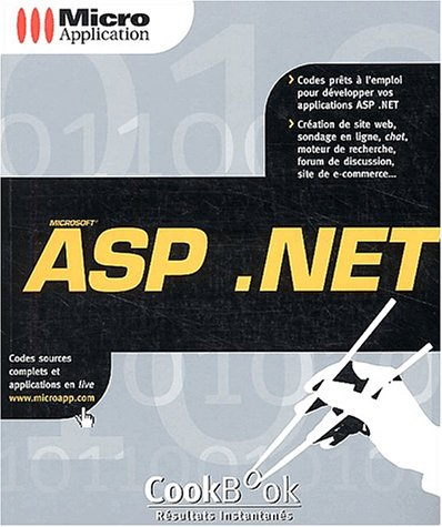 Cookbook ASP .NET par Jean-Paul Dècle