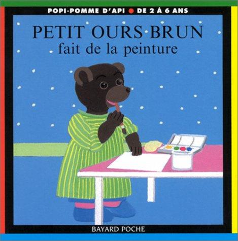 Petit Ours Brun fait de la peinture par Marie Aubinais, Pomme d'Api