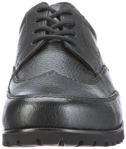 Ganter Gregor Weite G 2-257330-01000, Chaussures basses homme Noir (schwarz/schwarz)