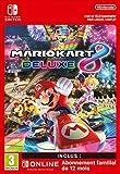 Mario Kart 8 Deluxe + 12 Mois Switch Online famille Limited Edition | Nintendo Switch -  Code jeu à télécharger