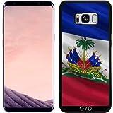 Coque Silicone pour Samsung Galaxy S8 Plus (SM-G955) - Drapeau De Haïti by Carsten Reisinger